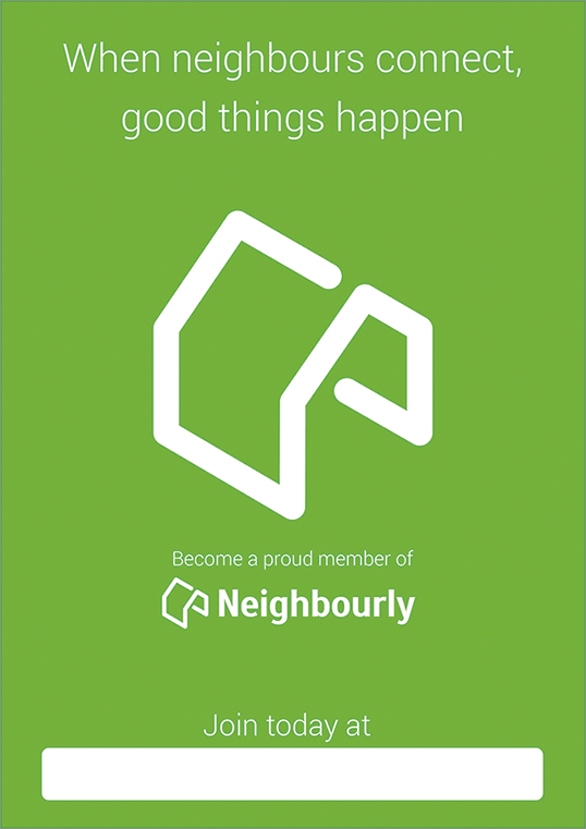 Neighbourly poster
